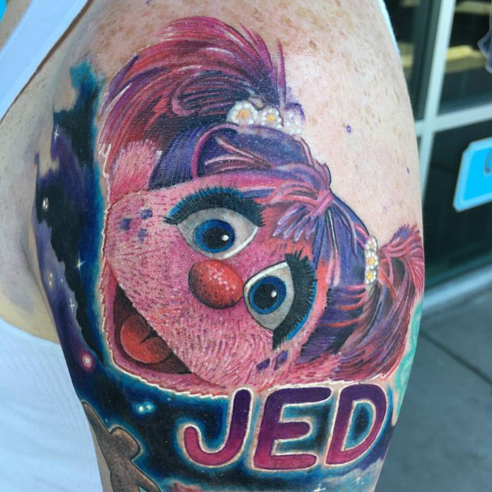 Muppet_Abby_Cadabby_Tattoo_by_Krystof_Bluenote_Tattoo_Las_Vegas_Best_Tattoos_Experience_LV_Shop_Stud