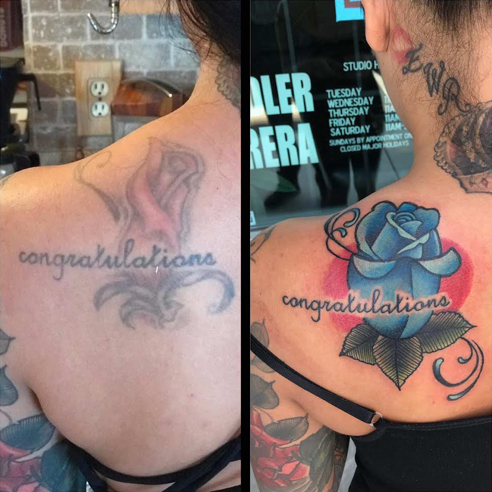 Cover Up Tattoo by Krystof