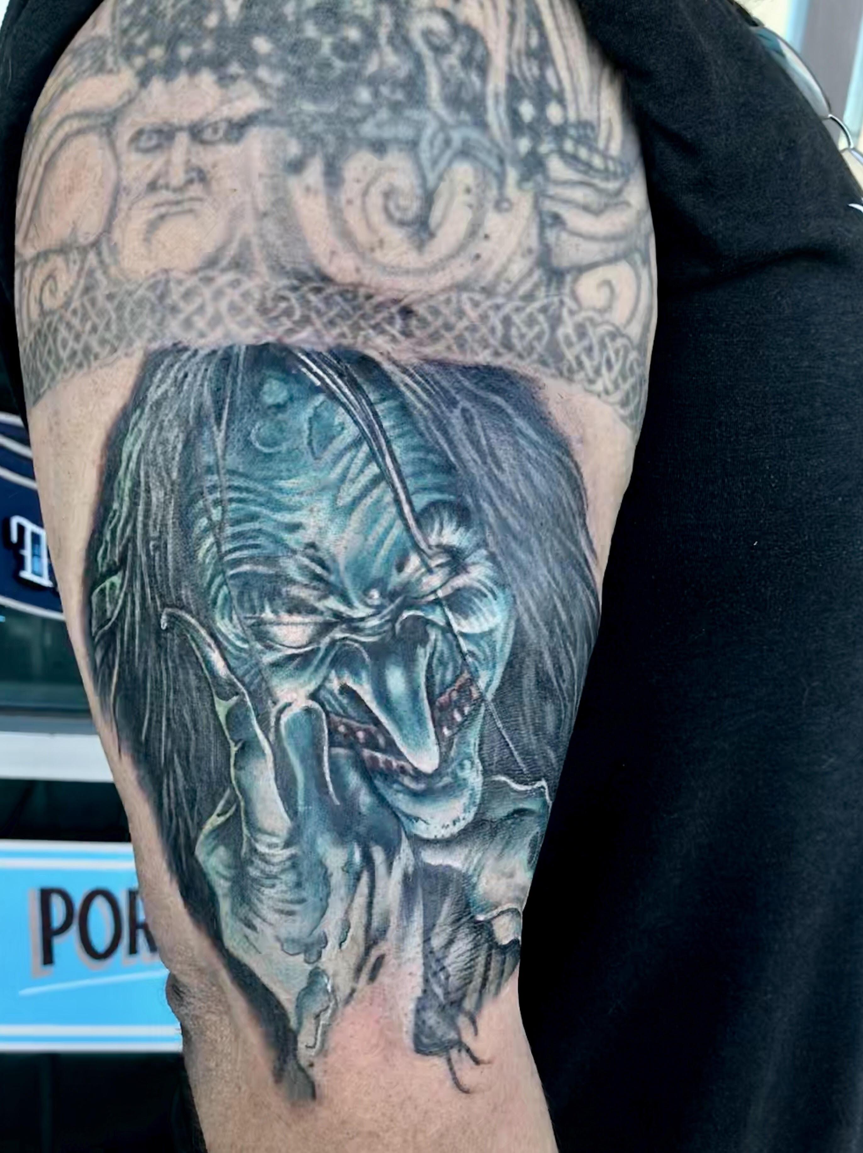 Creepy Tattoo by Krystof
