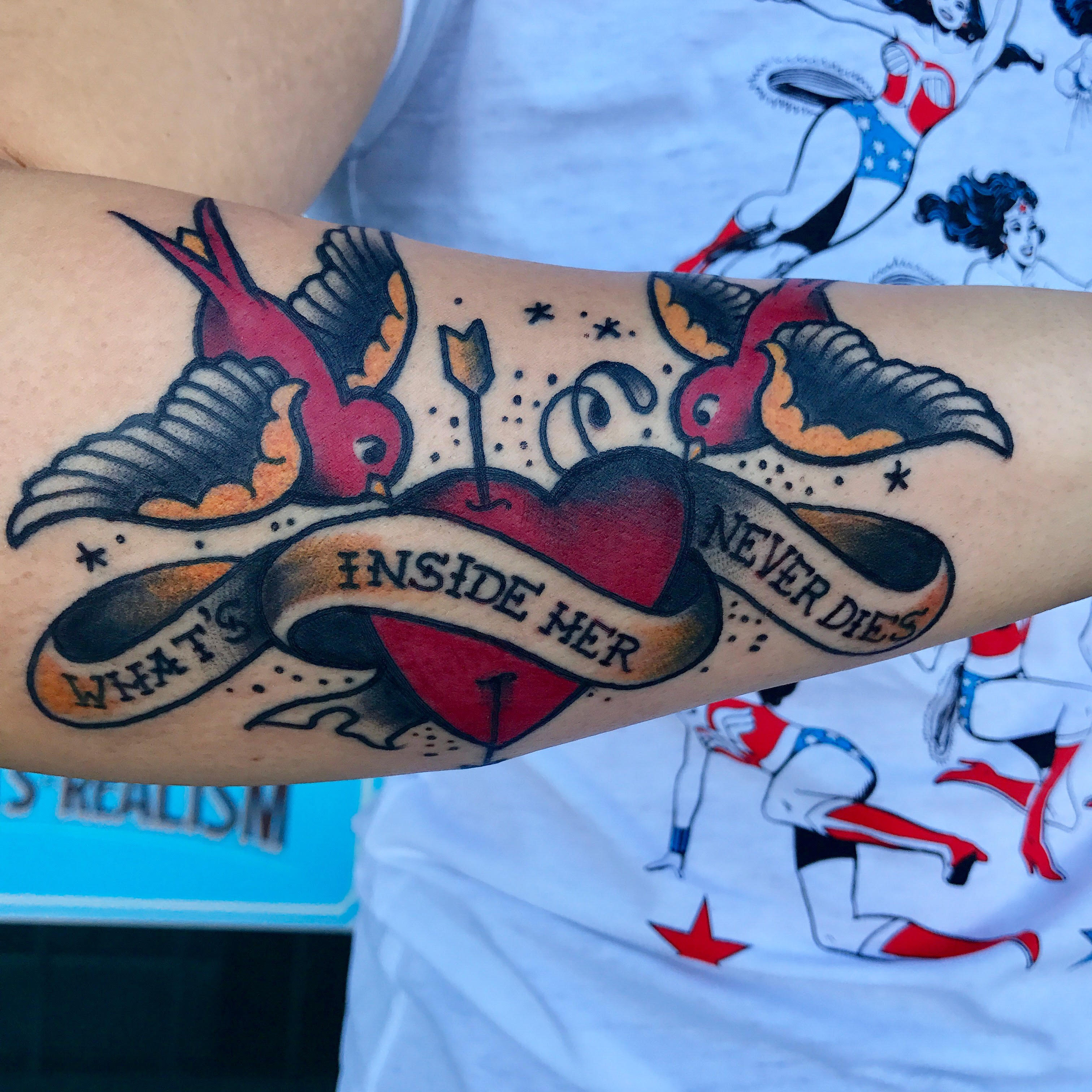 Sailor Jerry Tattoo by Krystof