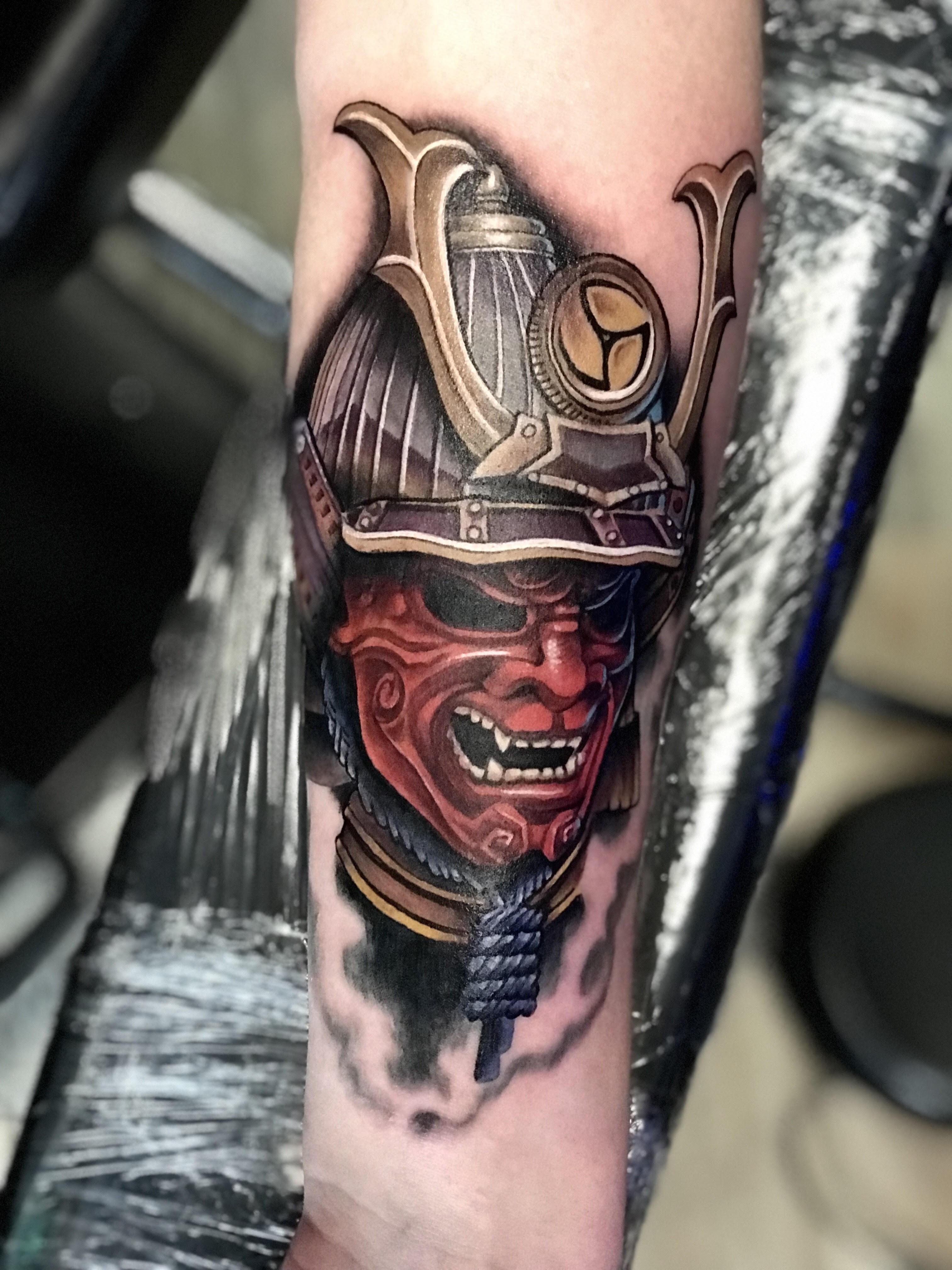 Samurai Tattoo by Krystof