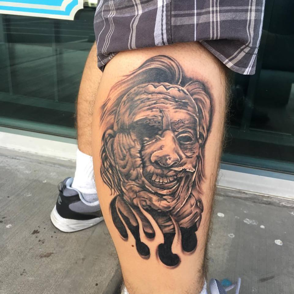 Leatherface Tattoo by Krystof