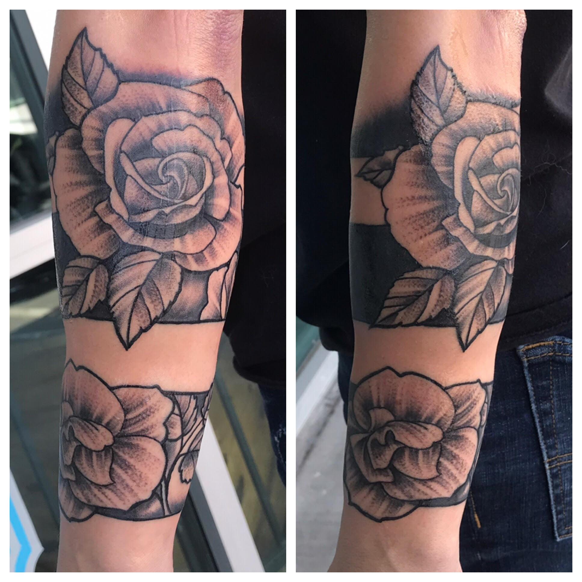 Rose Tattoos by Krystof