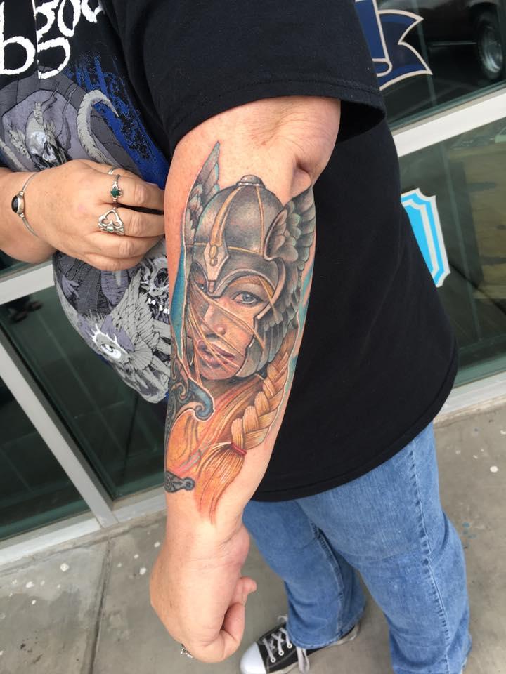 Freya Tattoo by Krystof