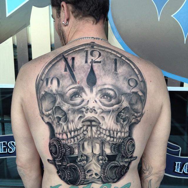 Doomsday Clock Tattoo