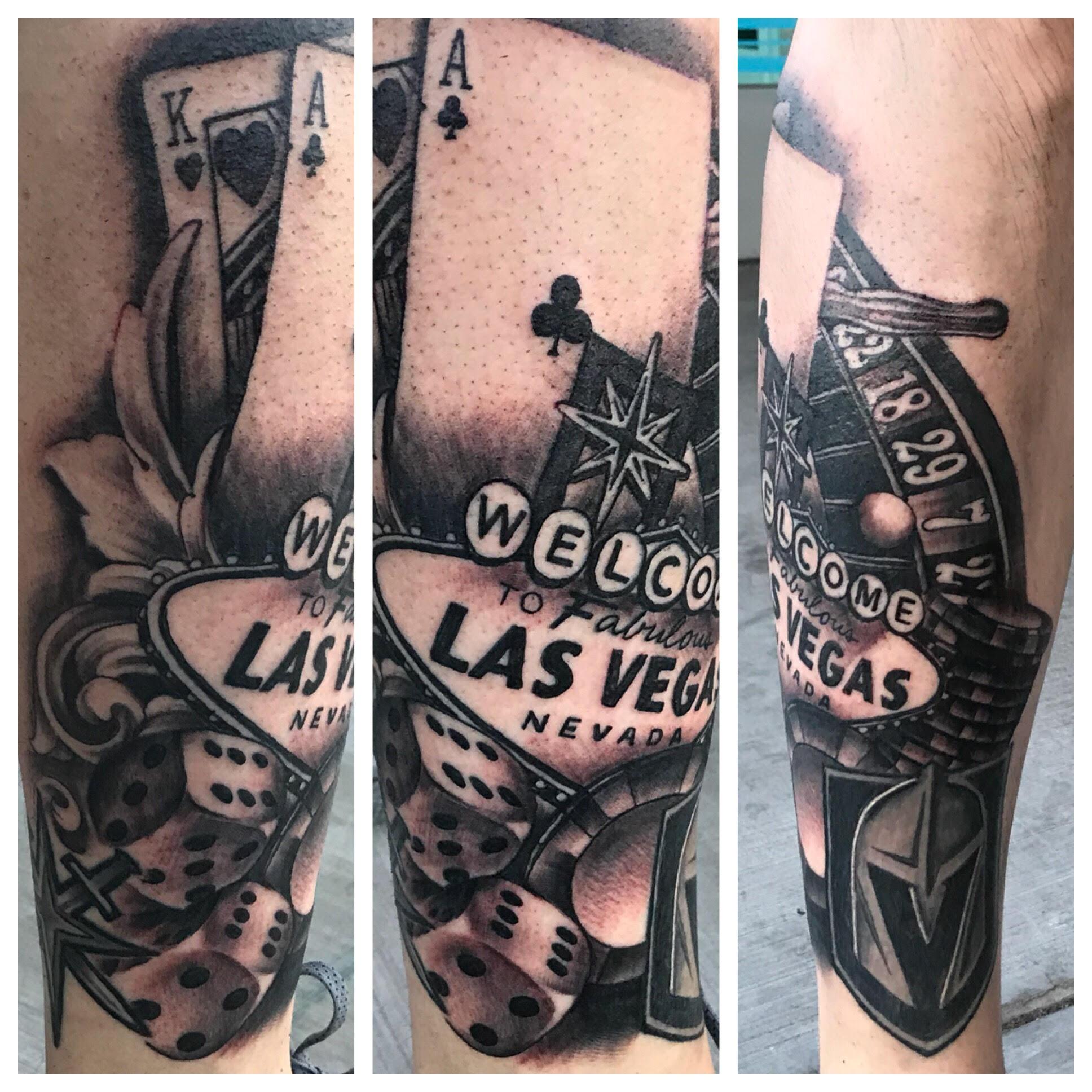 Las Vegas Tattoo by Krystof