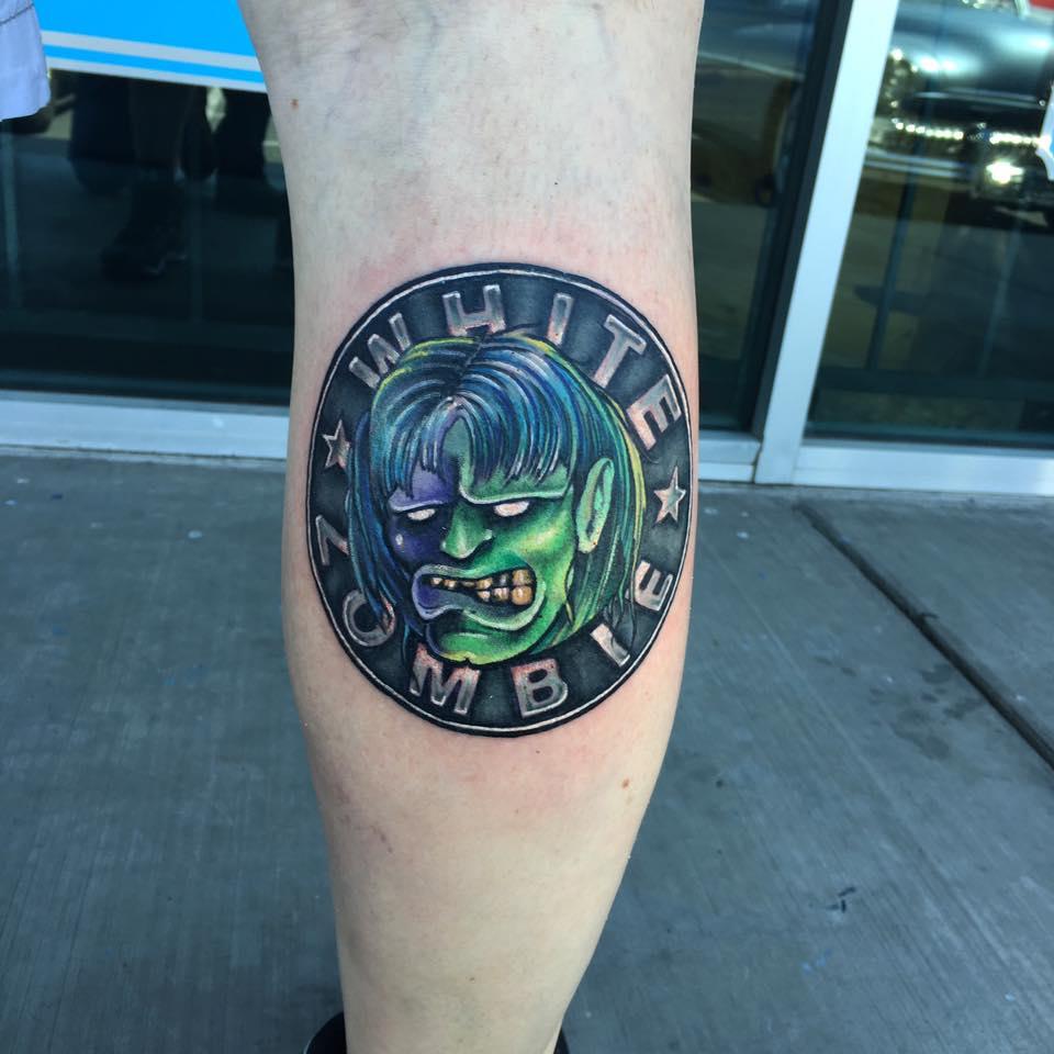 White Zombie Tattoo by Krystof