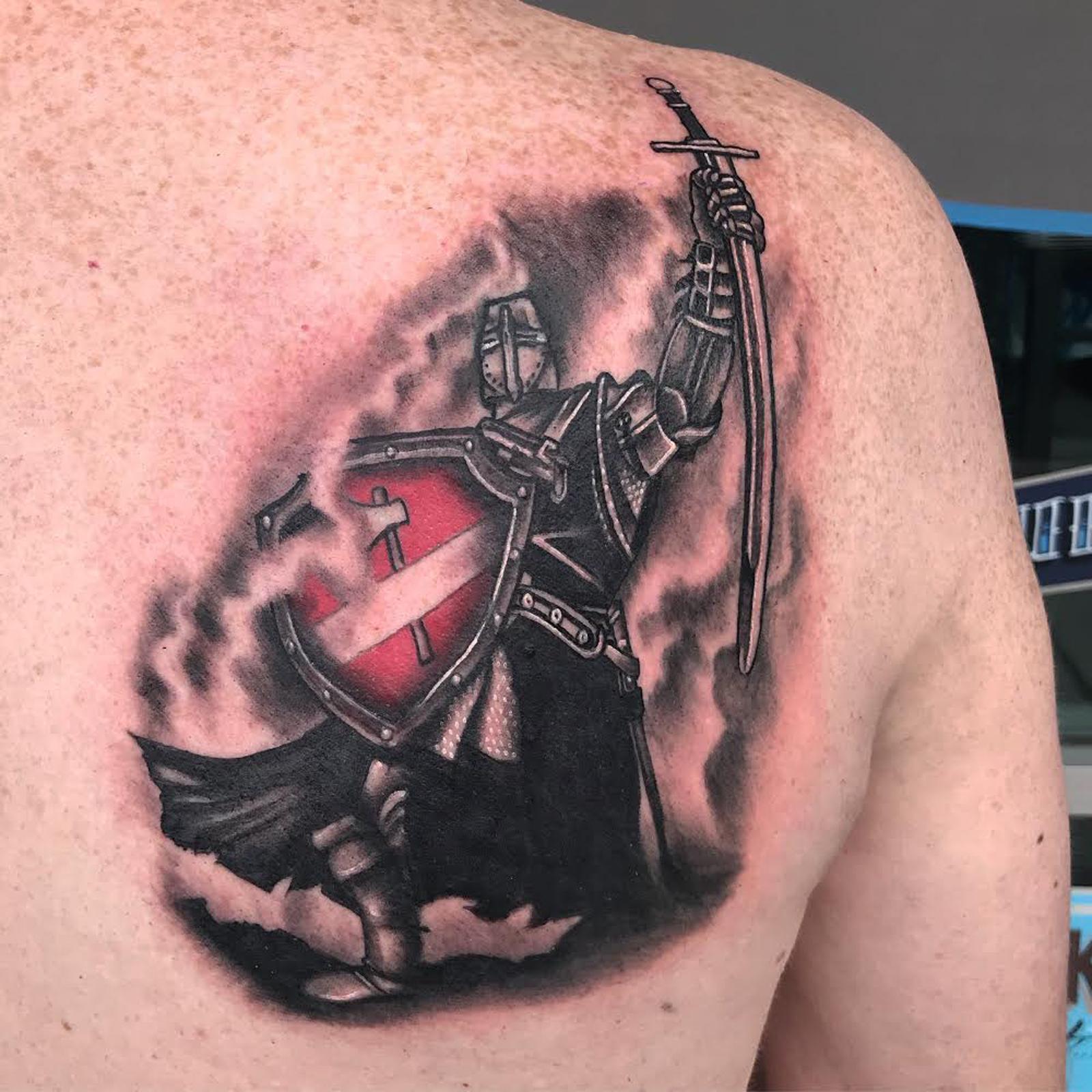 Knight Tattoo by Krystof