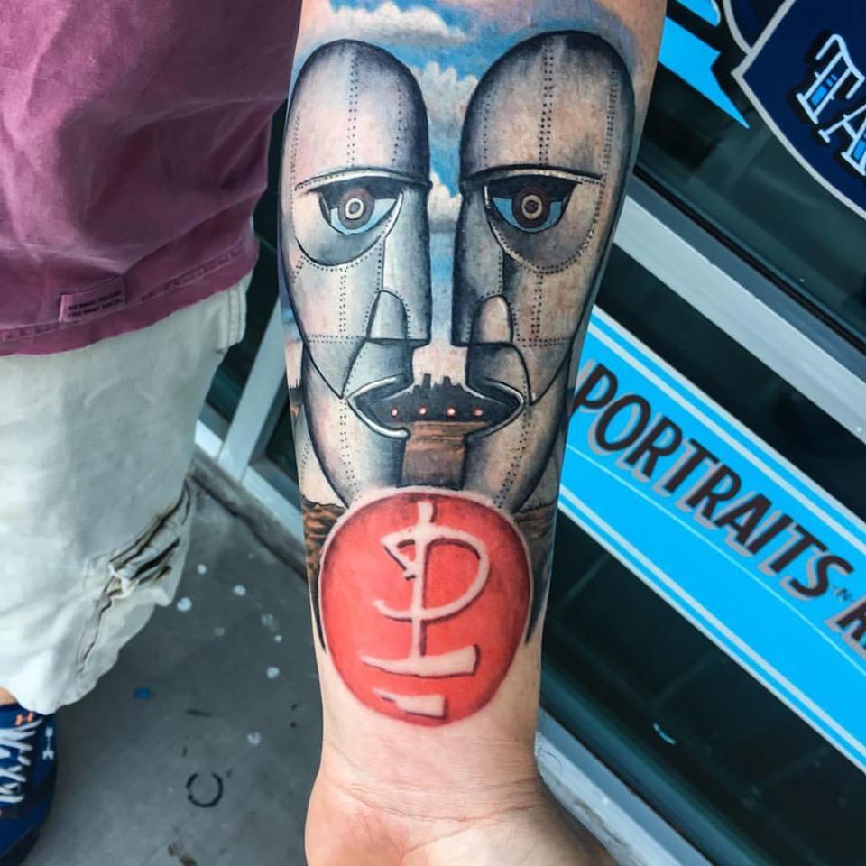 Pink Floyd Tattoo by Krystof