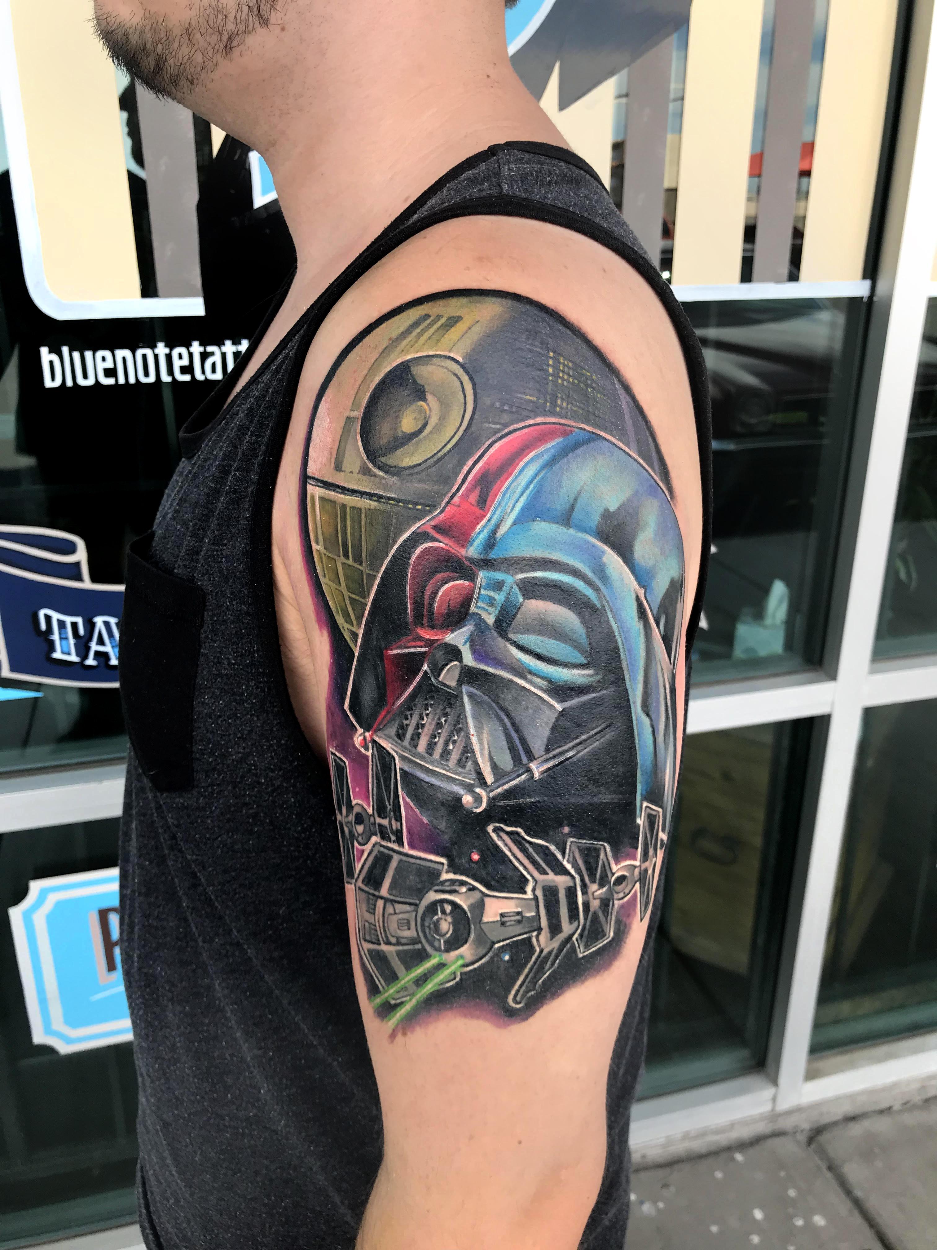 Darth Vader Tattoo by Krystof