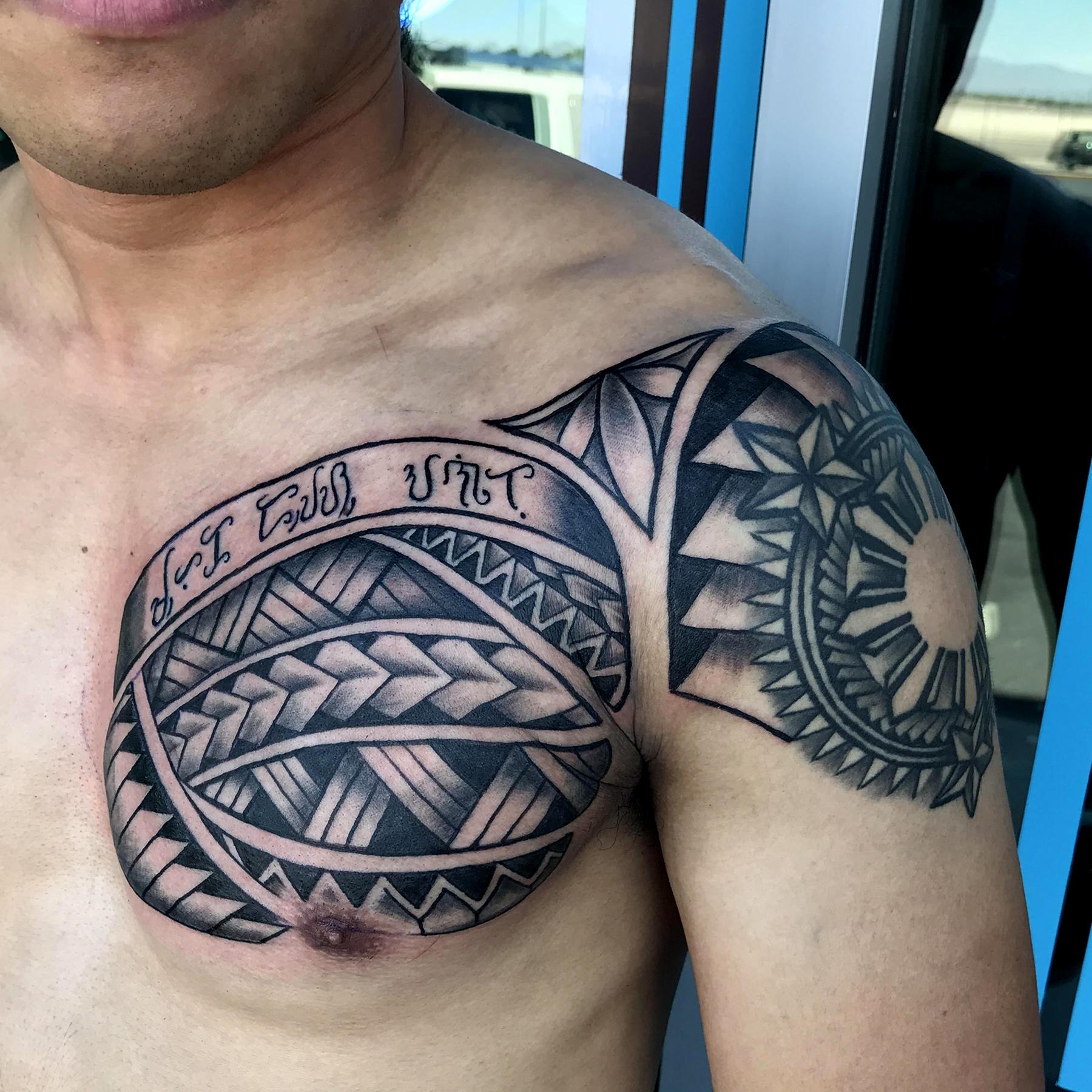 Polynesian Tattoo by Krystof