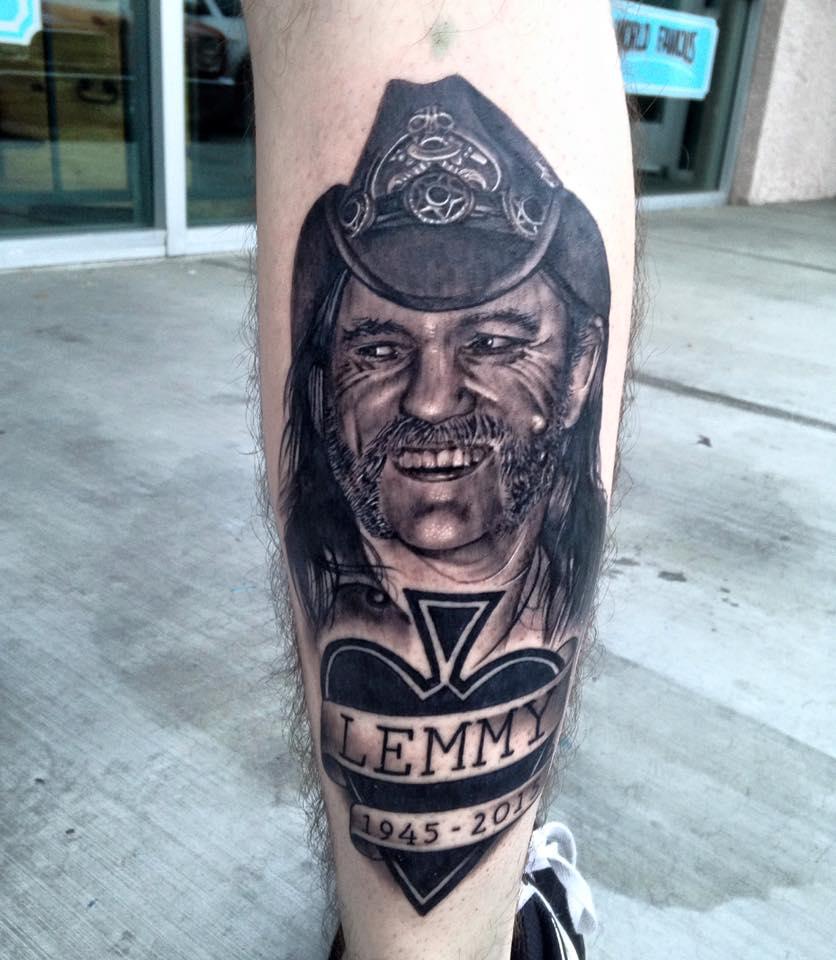 Lemmy Kilmister Tattoo