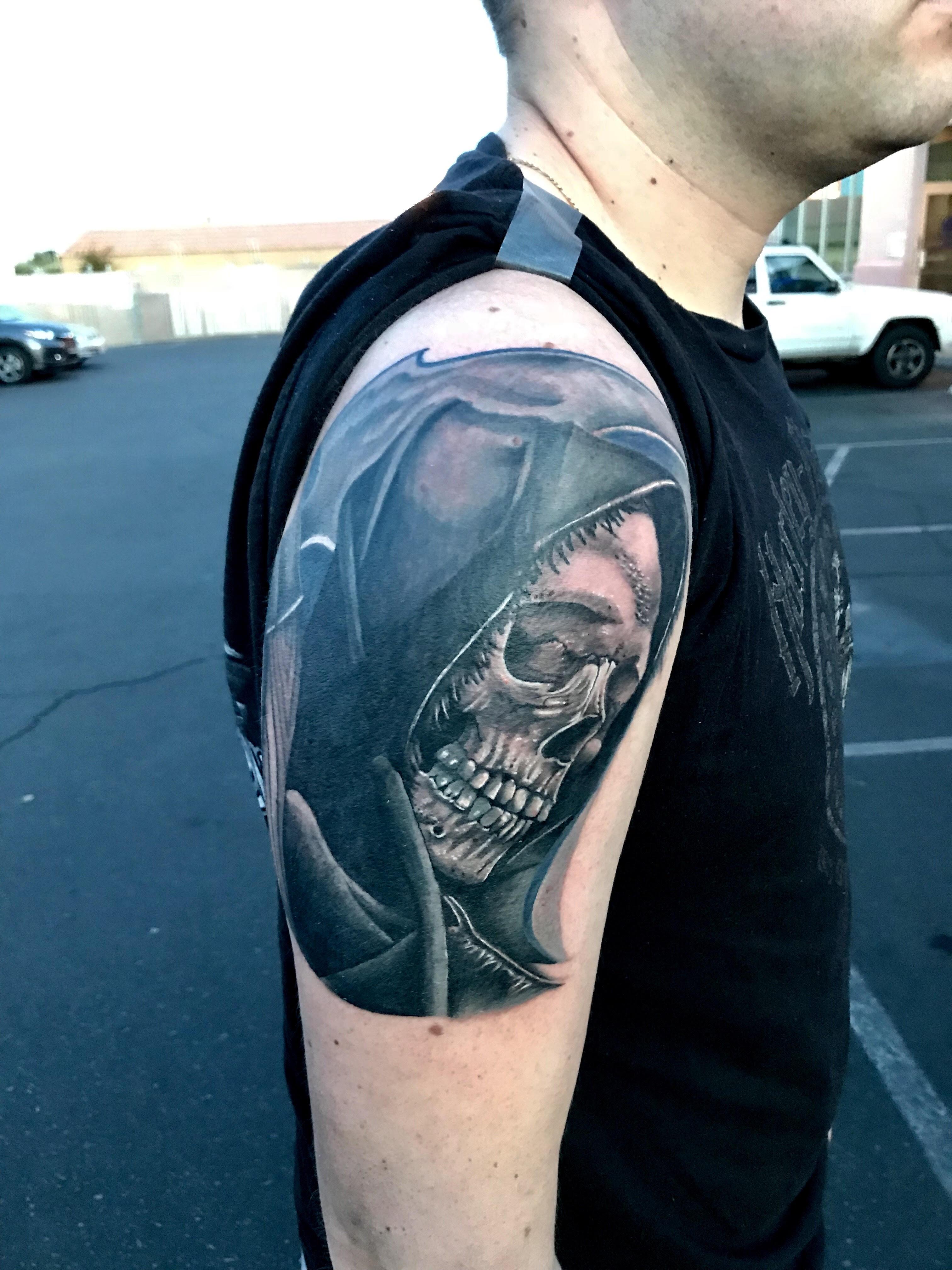 Reaper Tattoo by Krystof