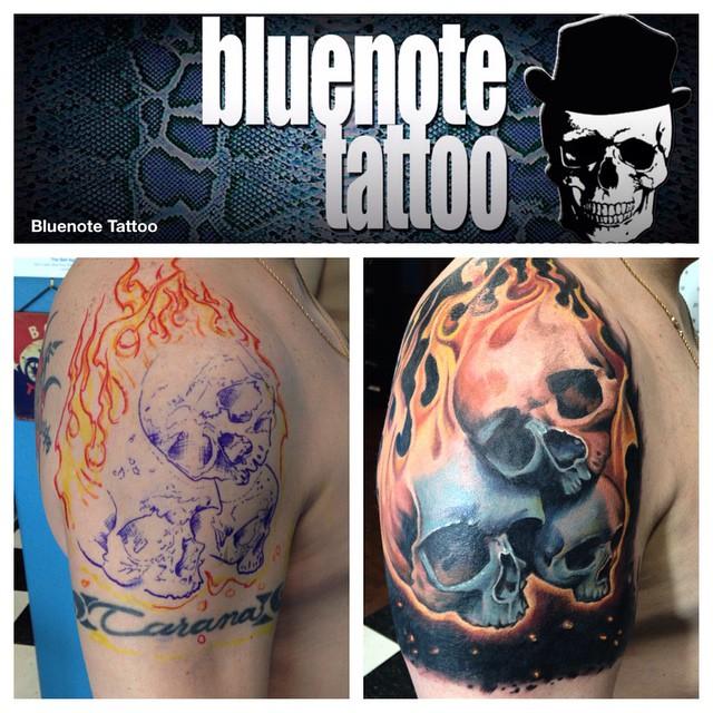 Armband Name Coverup Tattoo