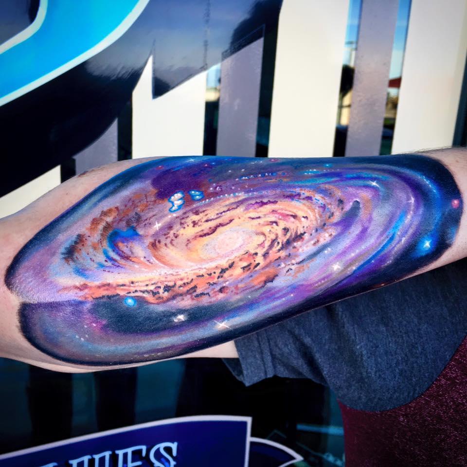 Space Tattoo by Krystof