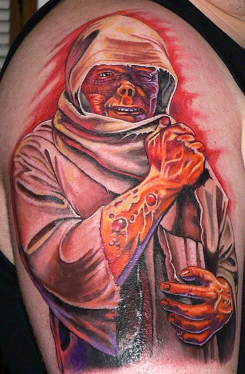 Death Leprosy Tattoo