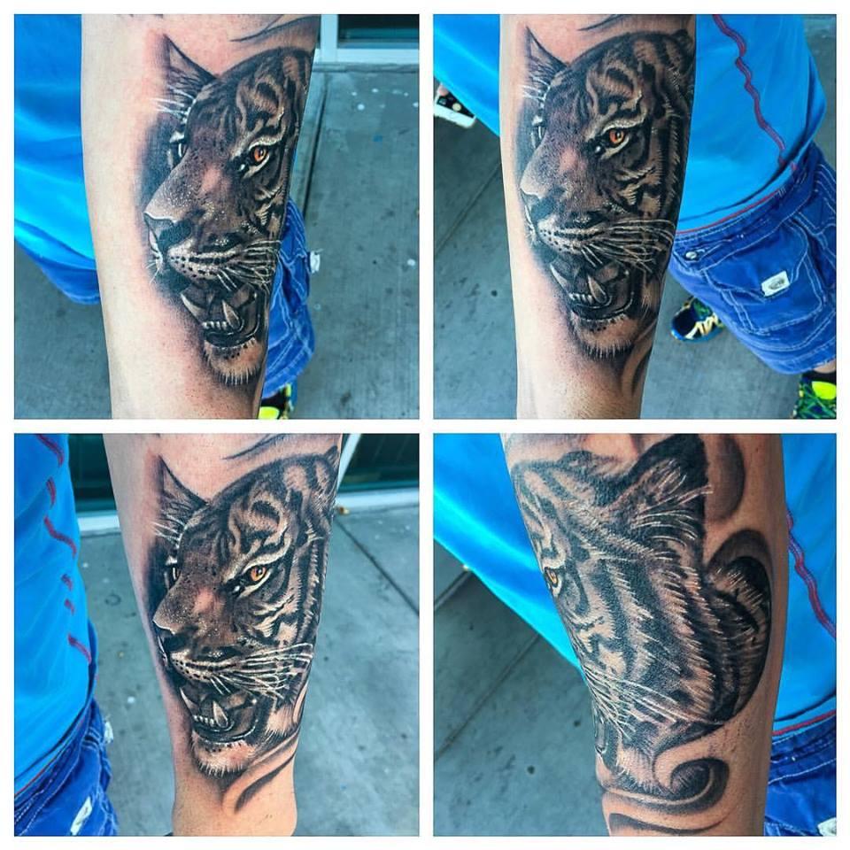 Tiger Tattoo by Krystof