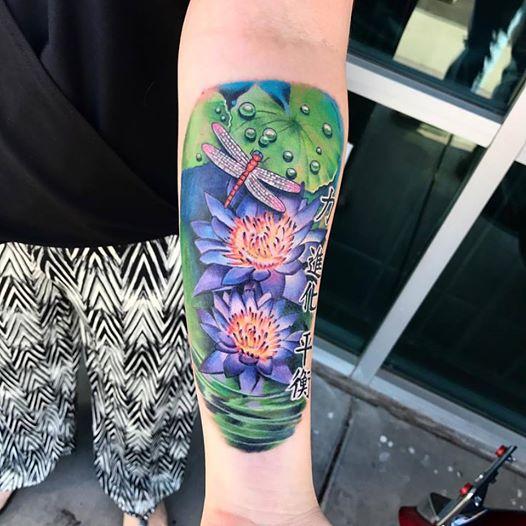 Floral Tattoo by Krystof
