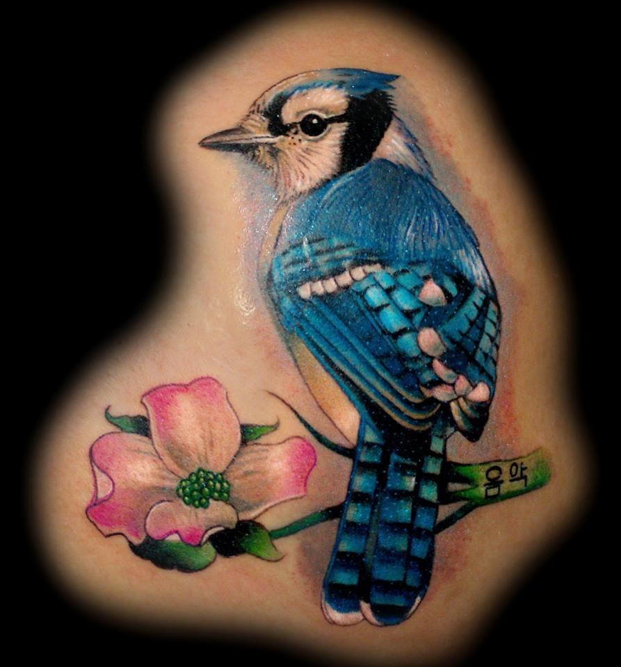 Bluejay Tattoo