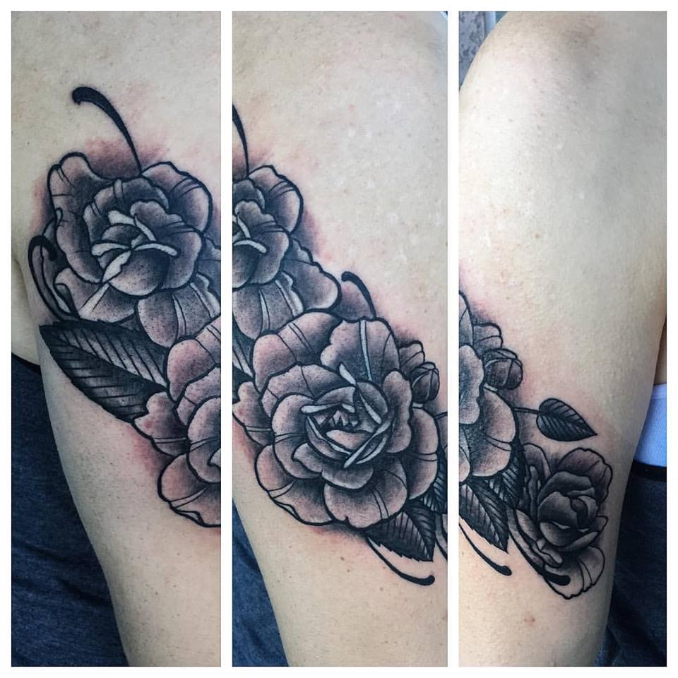 Roses Tattoo by Krystof