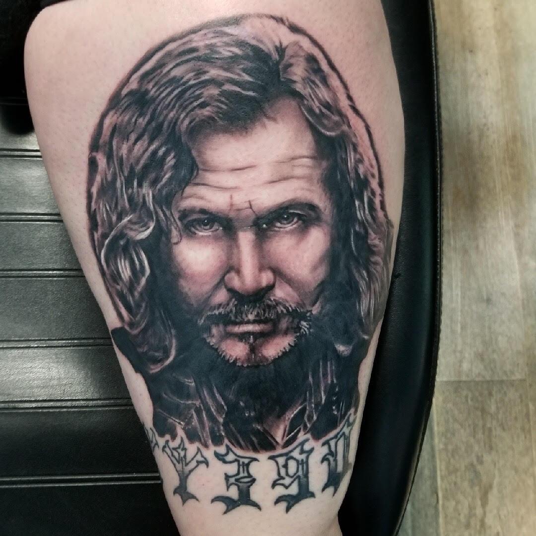 Sirius Black Tattoo by Eric Chandler