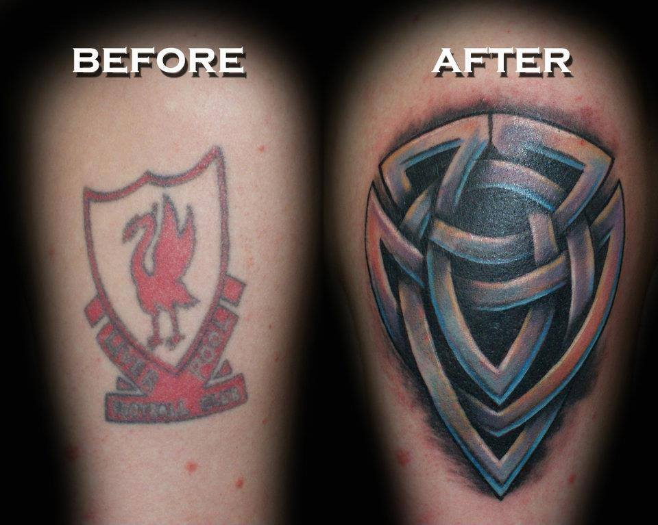 Celtic Coverup Tattoo