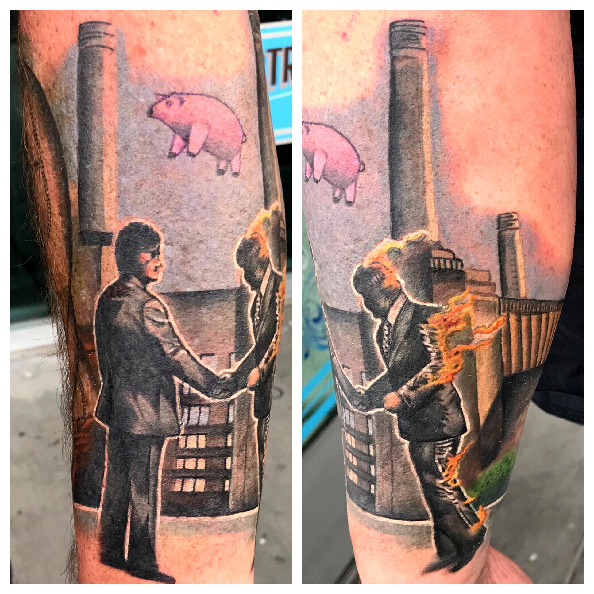 Wish you were here tattoo by Krystof