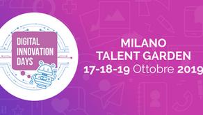Giovedì 17 ottobre al via i Digital Innovation Days.