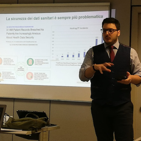 Testimonianza di Mirko De Maldè, Presidente del chapter italiano Government Blockchain Association