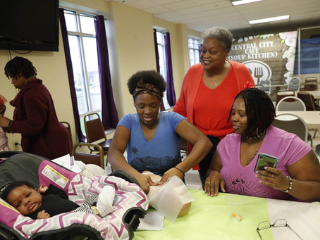 Baby cafe founder: Pilot project is key step toward lowering maternal death rates