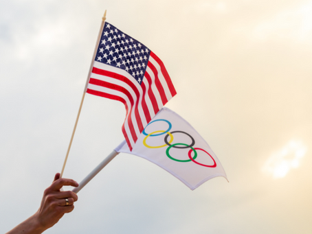 World Flags at the Olympics