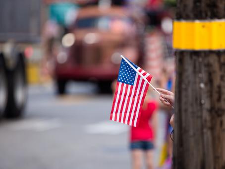 Flag Etiquette at Parades