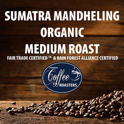 Sumatran Organic - Medium Roast