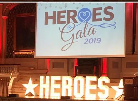 Harrington Heroes Gala Donation