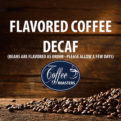 Flavored Coffee: DECAF