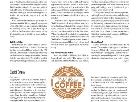 Java Beat: Cold Brew