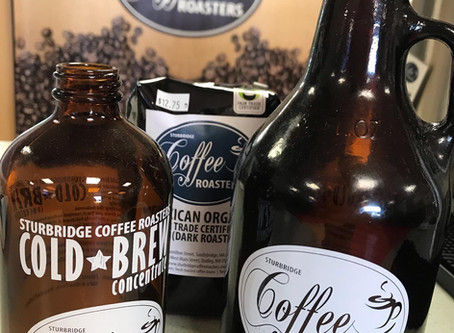 16 oz Cold Brew Bottles available in Stores