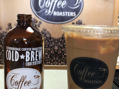 Sturbridge Coffee Roasters New Product: 16 oz Cold Brew Concentrate