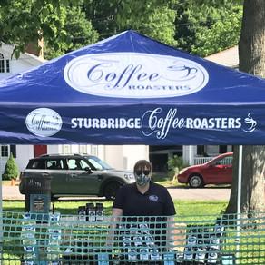 Sturbridge Coffee Roasters at the Sturbridge Farmers Market