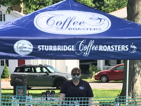 Sturbridge Coffee Roasters at the Sturbridge Farmers Market
