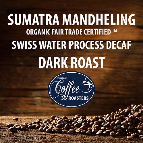 Sumatran Organic - Decaf Dark