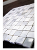 Pale Umber Stone Mosaic