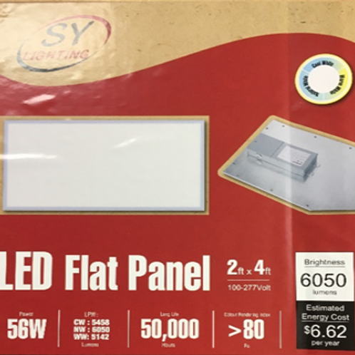 LED Flat Panel 2' x 4'