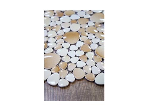 Cobblestone Pebble Ceramic Mosaics