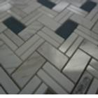 Lil Herringbone Stone Mosaic