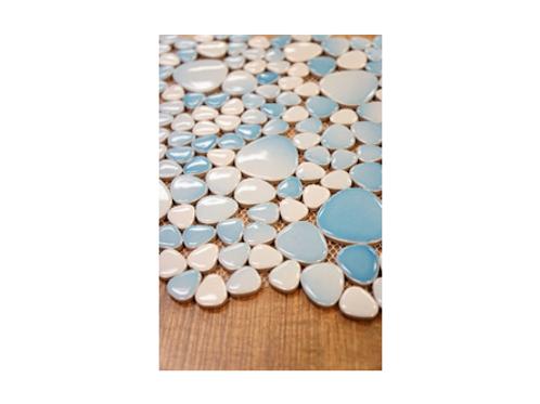 Kayan River Pebble Ceramic Mosaics