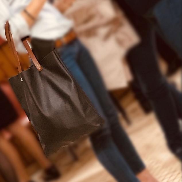 sac cabas mil cuir maroquinerie création