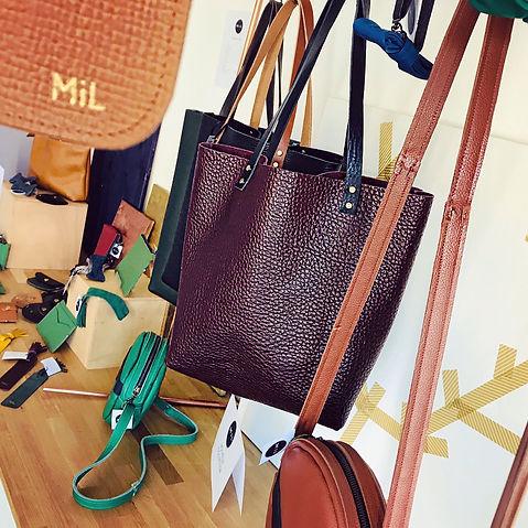 mil atelier sac pochette accessoire cuir, maroquinerie intemporelle aux valeurs responsables