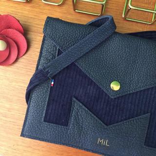 cuir sac noir responsable nantes maroquinerie artisanale création française