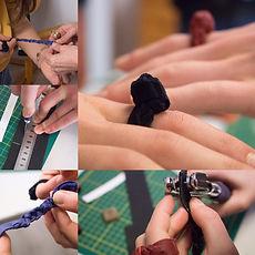 atelier mil - création bague en cuir